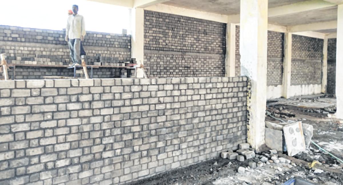 Ujjain: Young entrepreneurs carve  success through fly-ash bricks
