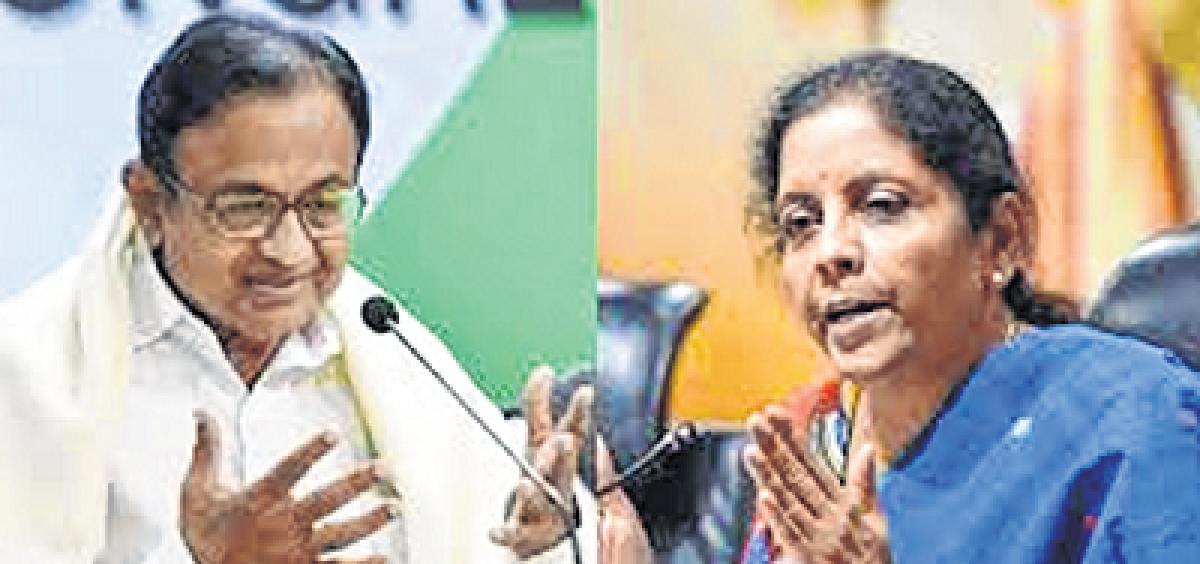 Is Sitharaman giving Pak clean chit:Chidambaram