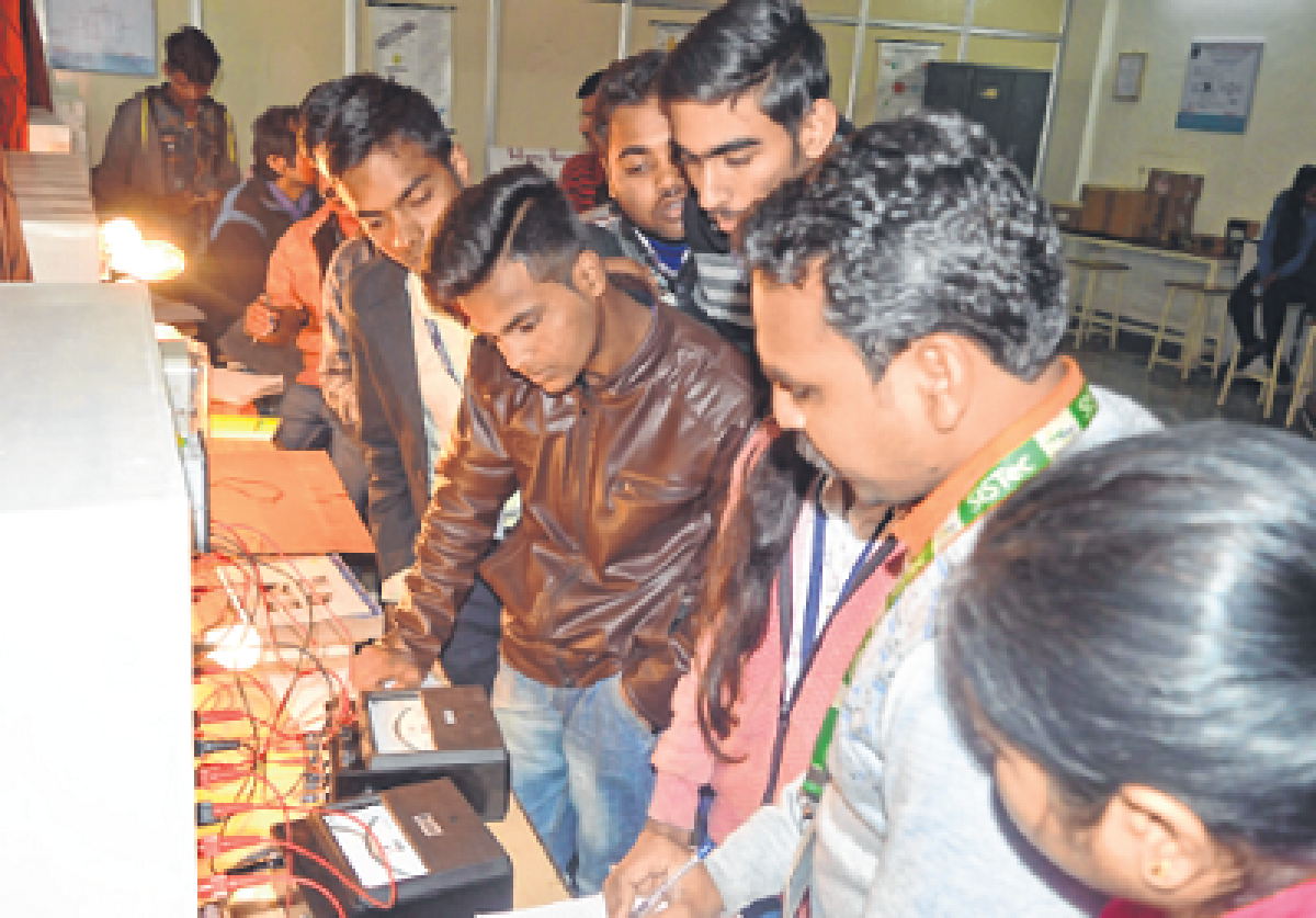 Bhopal: SISTec holds winter break training