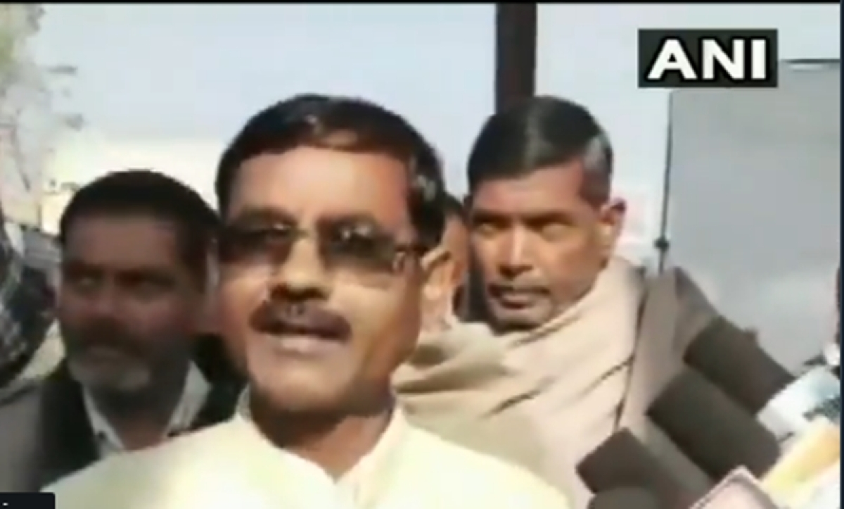 Watch: Will bomb those who feel unsafe in India, says UP BJP MLA Vikram Saini