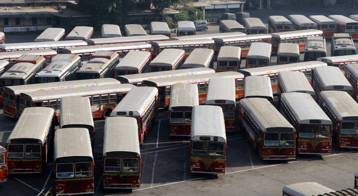 BEST Bus Strike: NCP and AAP attack BJP and Shiv Sena, question motives