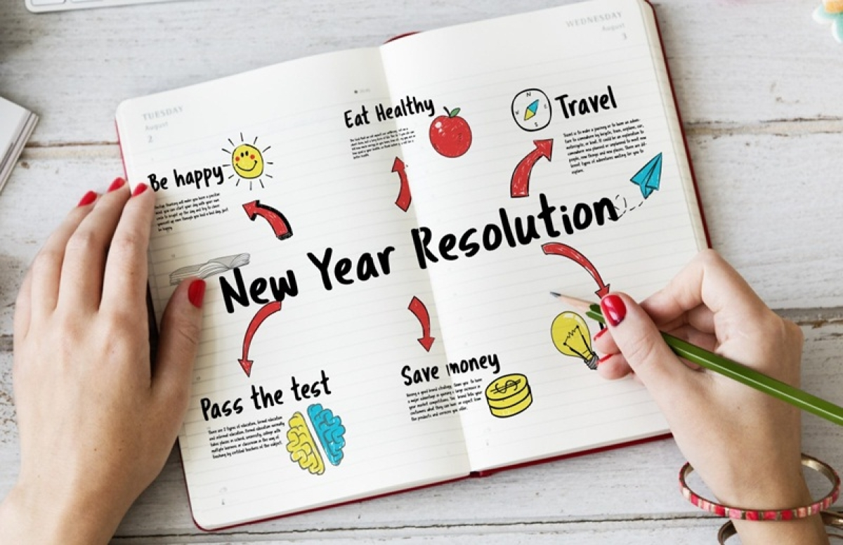 How to make New Year resolutions and keep them