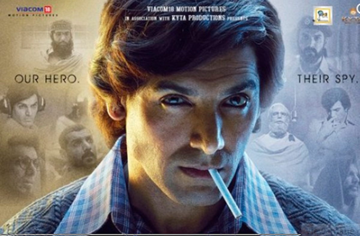 'Romeo Akbar Walter' first poster out; John Abraham goes retro in this spy thriller