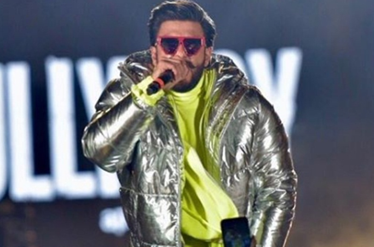 Ranveer Singh's epic jump in crowd at 'Gully Boy' music launch turns into memes; actor shares on Instagram