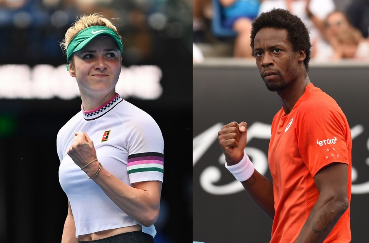 Love Match! Everyone's crazy for tennis power couple Elina Svitolina and Gael Monfils