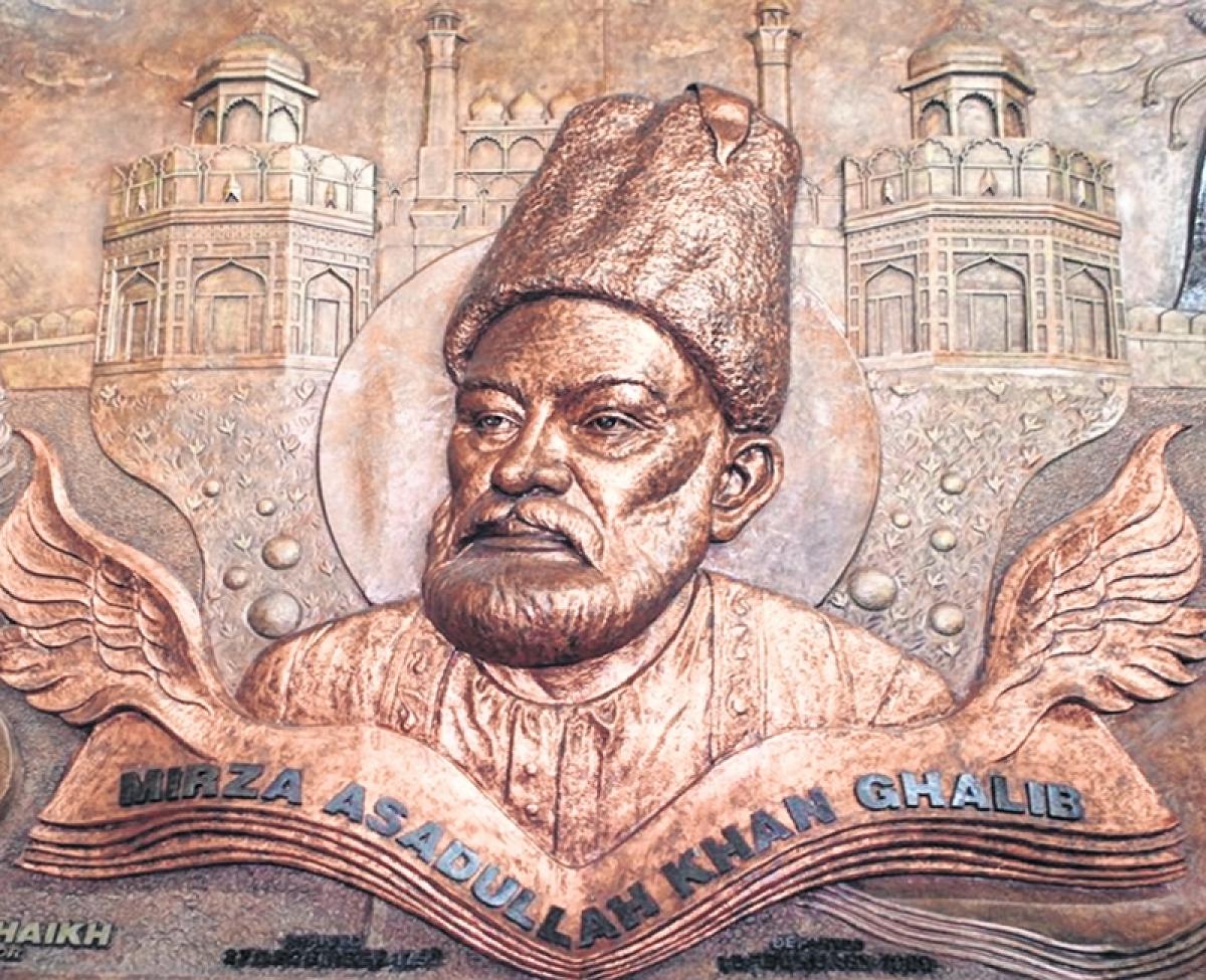 Poetry on the walls of Nagpada! Mumbai gets its first mural — Mirza Ghalib