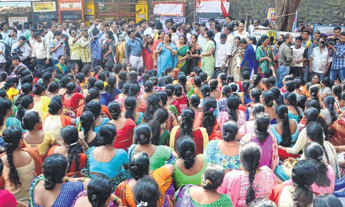 BEST Strike: Families see harassment over peaceful protest