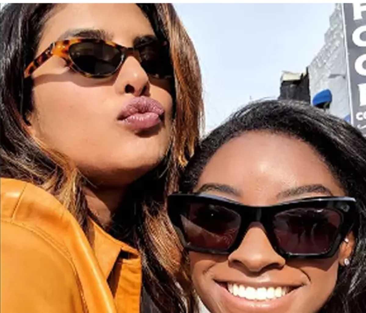 Priyanka Chopra to host Olympic gold medallist Simone Biles as the first guest on her YouTube show