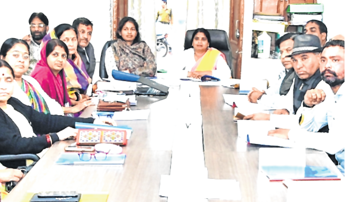 Ujjain: Brief report on  cleanliness produced in review meeting
