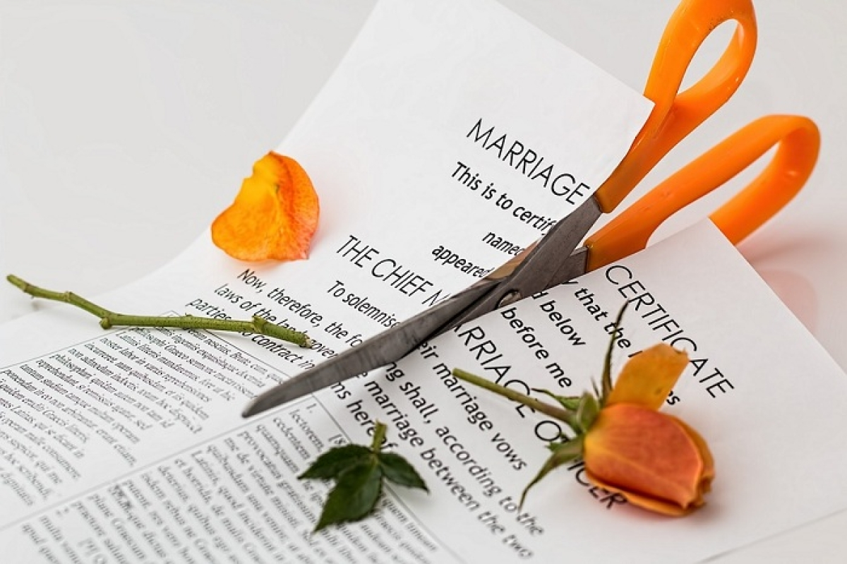 """Online Divorce claims """"Divorce after 15 years of marriage is common in the US"""""""