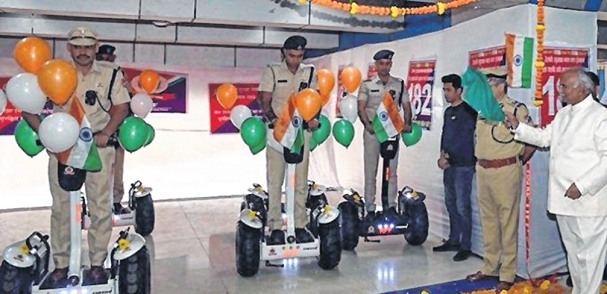 Way to go! Western Railway provides segways for RPF at major railway stations