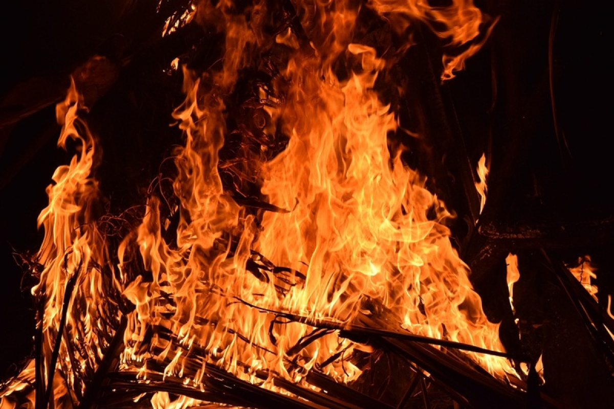 Fire breaks out in New Town, two persons suffer burn injuries