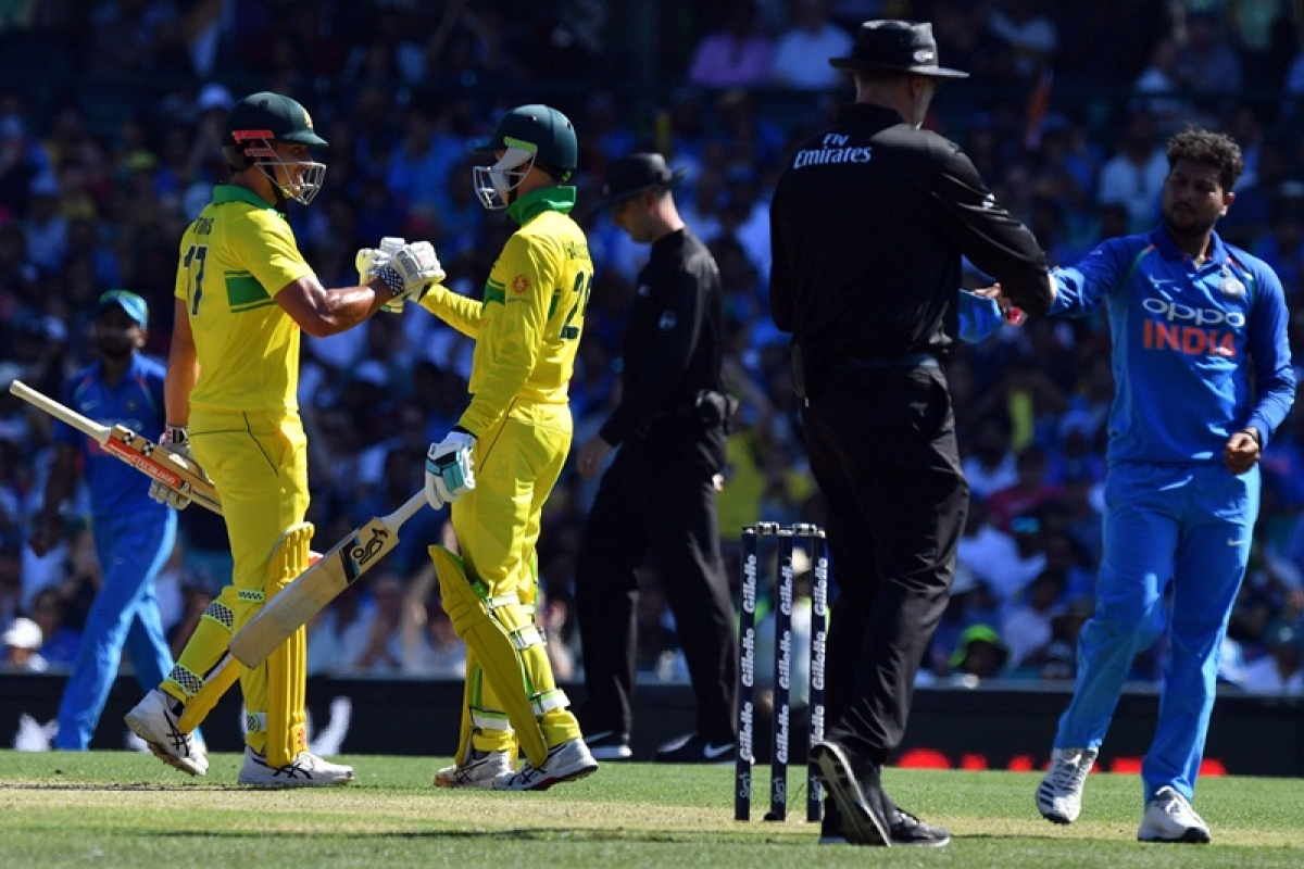 India vs Australia 1st ODI: Handscomb, Khawaja, Marsh smash fifties as Aussies set 289-run target for India