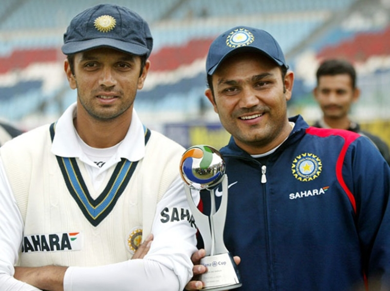 'Wall' Done Viru! Virender Sehwag's quirky birthday wish for Rahul Dravid is winning hearts