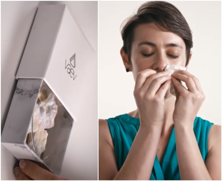 What? This Los Angeles based company is selling used tissues for more than Rs 5,500