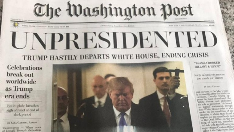 Fake news of Donald Trump resignation sends Washington DC into tizzy, here's the truth