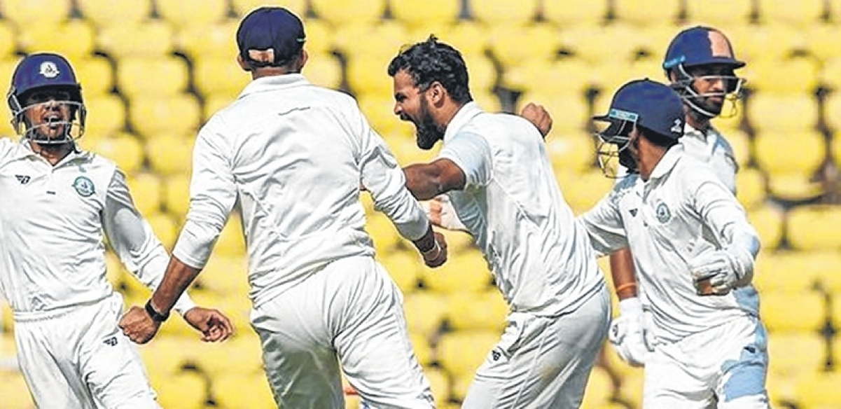 Ranji Trophy 2019 Final: Pujara out cheaply as Vidarbha inch closer to title