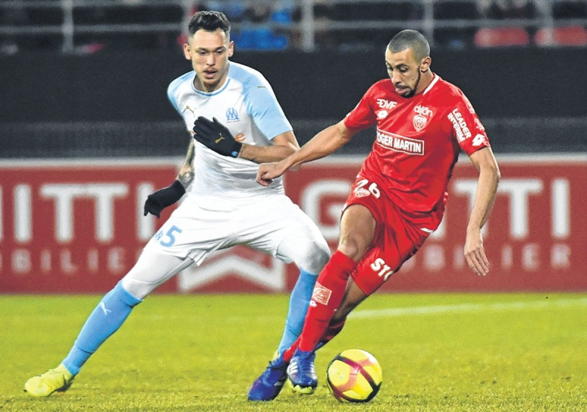 French league: Mario Balotelli's second goal in three games helped Marseille to a 2-1 win at Dijon