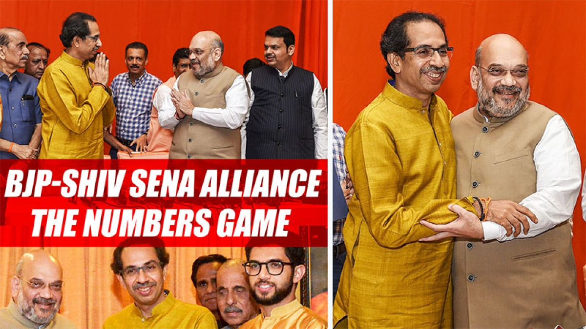 BJP-Shiv Sena Alliance: The Numbers Game