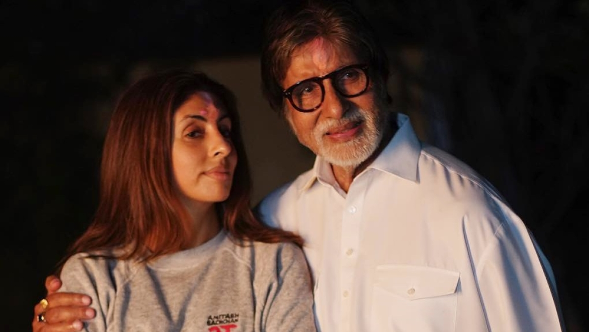 Here's how Amitabh Bachchan embarrassed daughter Shweta Nanda