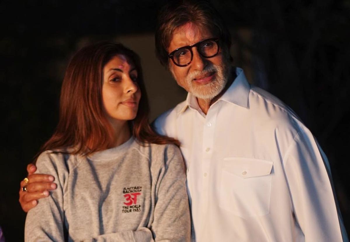 Amitabh Bachchan shares a special post for daughter Shweta Bachchan Nanda
