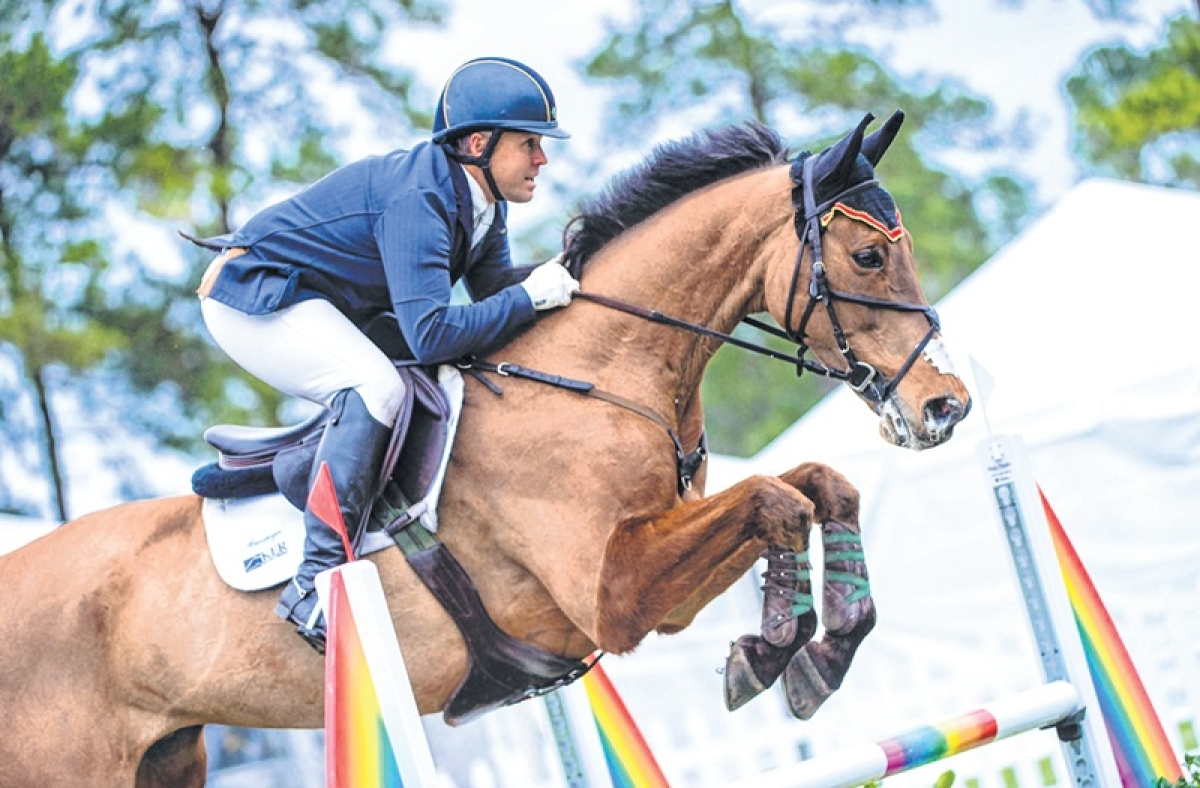 National Equestrian Championship: Stage set for show jumping