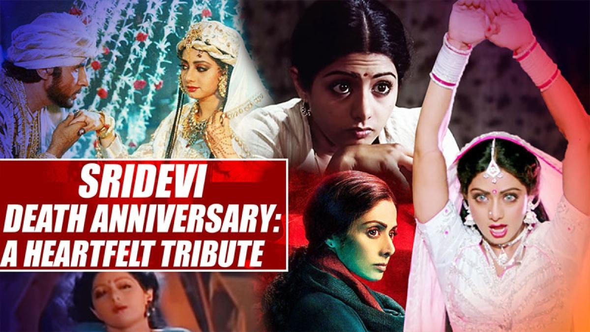 Sridevi Death Anniversary: A Heartfelt Tribute