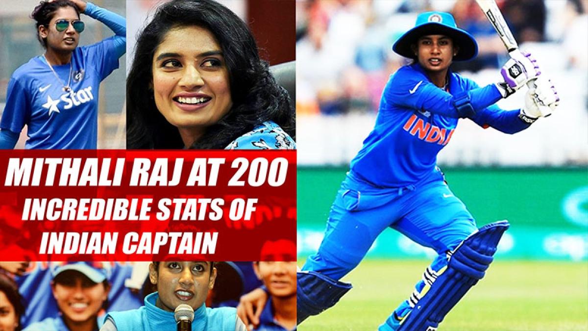 Mithali Raj At 200: Incredible Stats Of Indian Captain