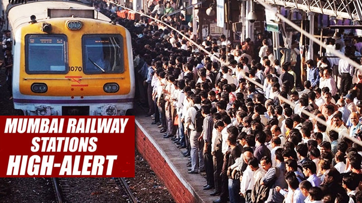 Mumbai Railway Stations On High-Alert