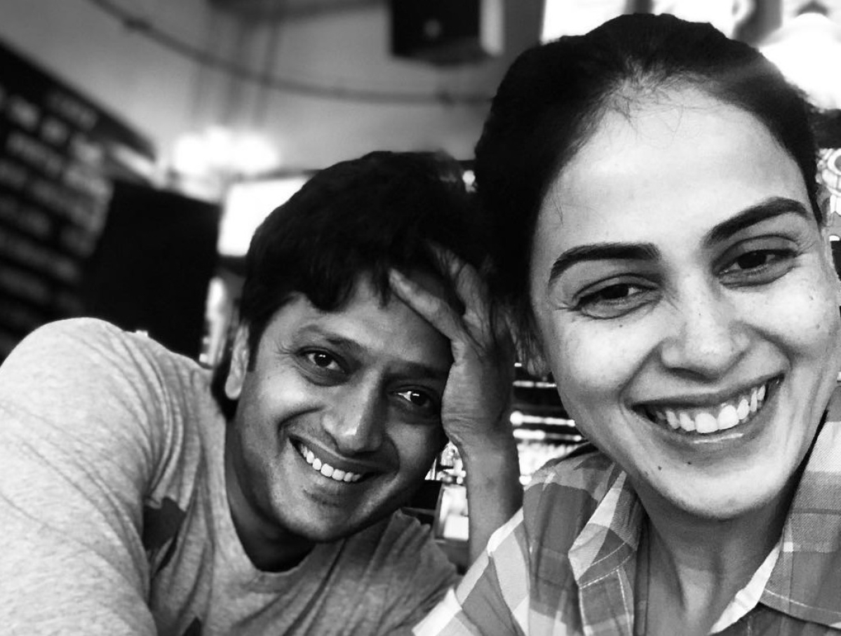 Riteish is reason for my smile: Genelia Deshmukh on wedding anniversary
