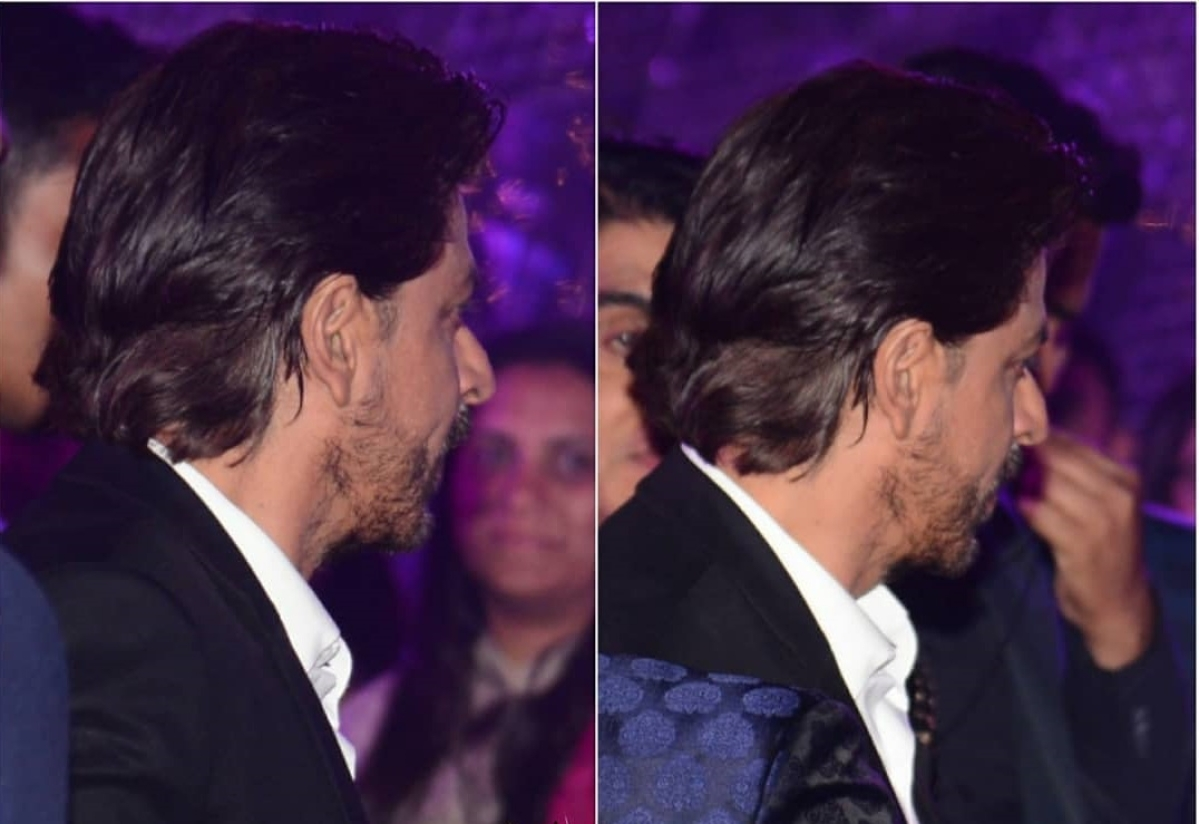 In Pics! Shah Rukh, Raveena and others attend Azhar Morani and Tanya Seth's sangeet