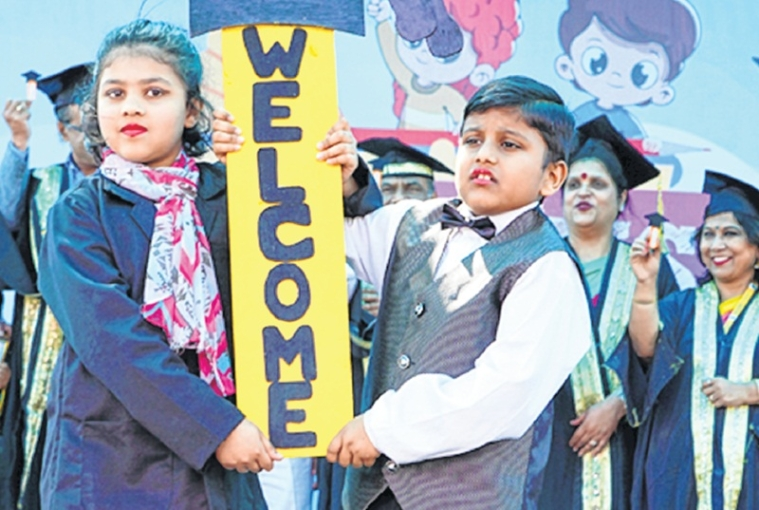 Bhopal: Cradle to Crayons' graduation ceremony of tiny tots held