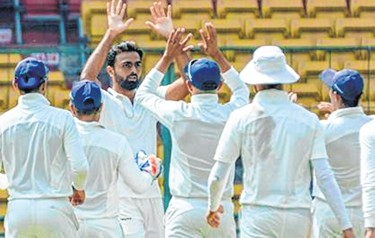 Ranji Trophy Final: Saurashtra take Day-1 honours