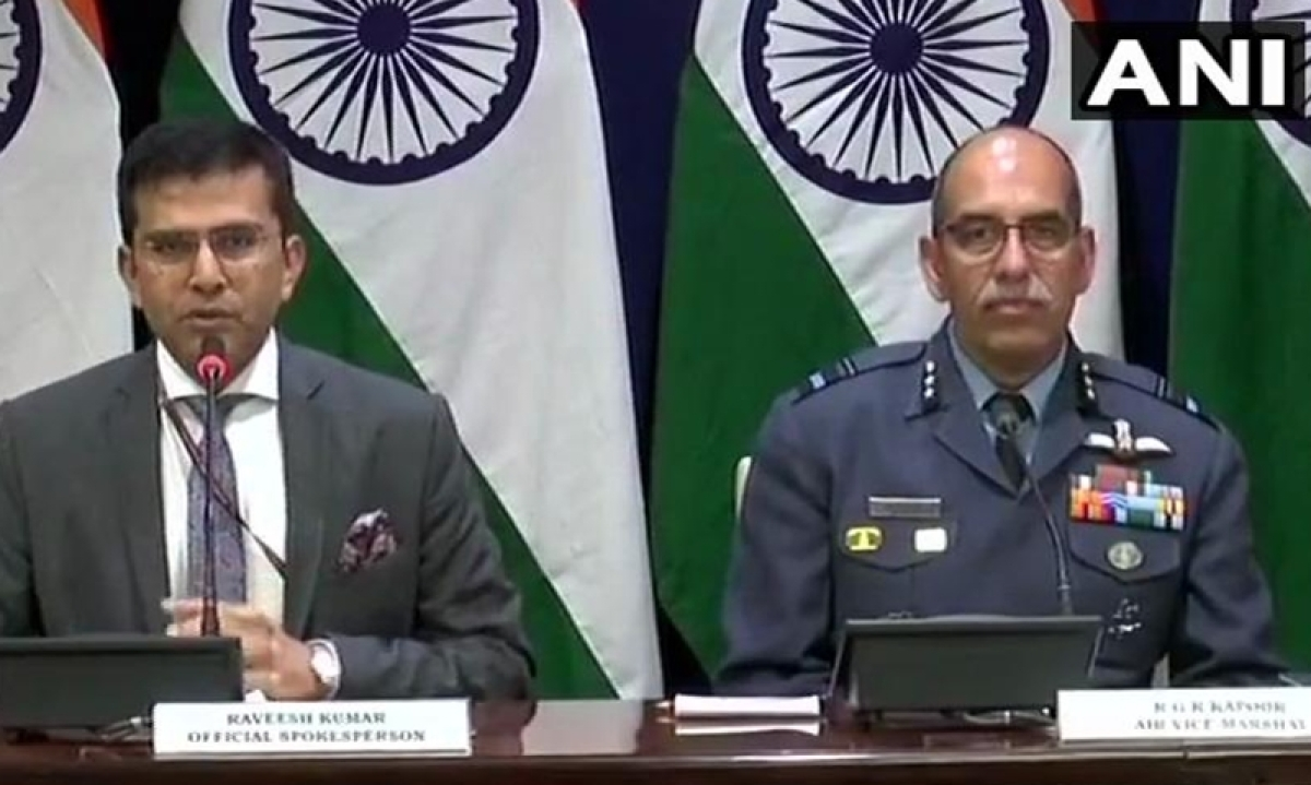 India shot down Pak jet targetting military installations on our side, one IAF pilot missing in action: MEA