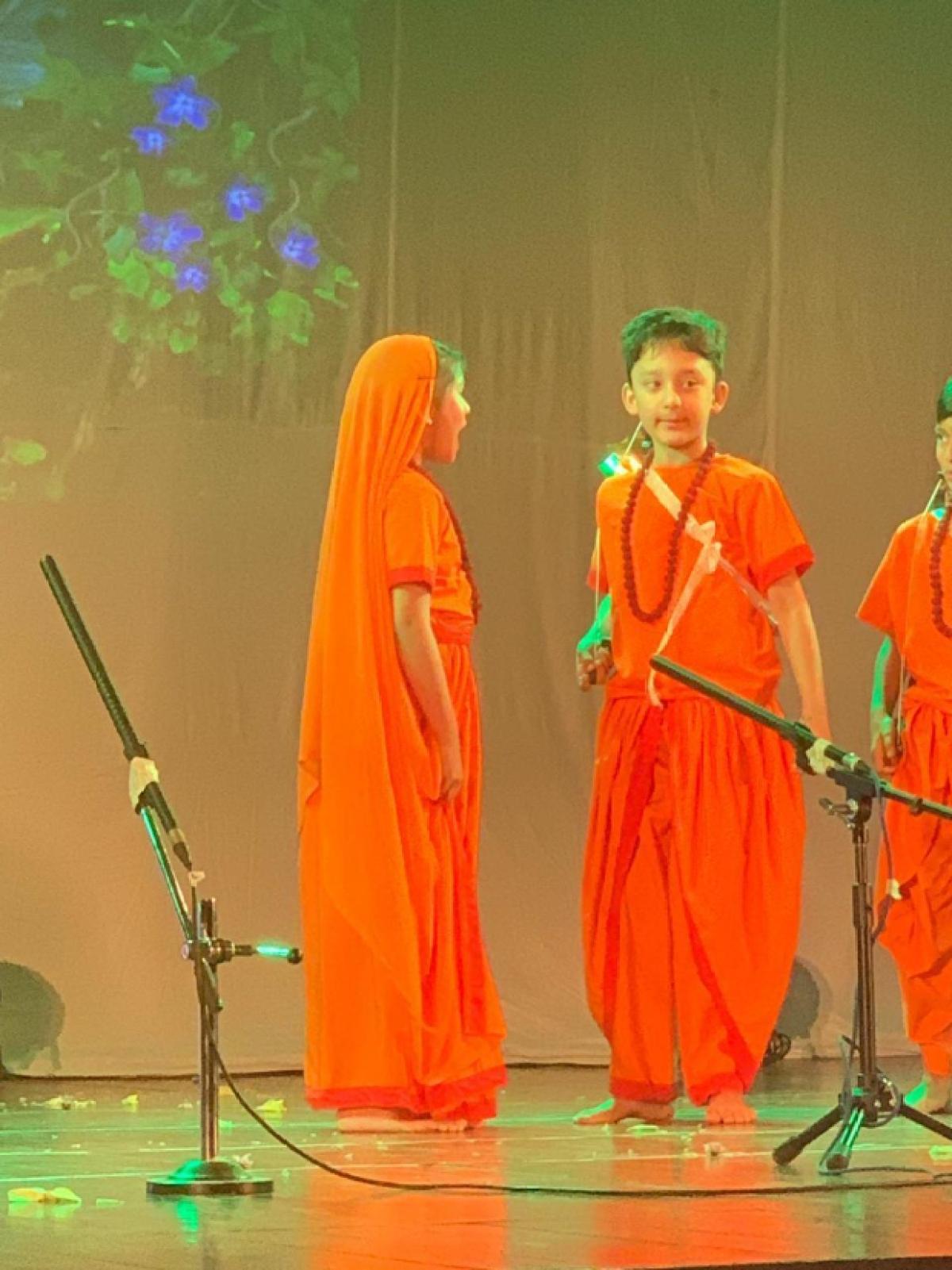 Ajay Devgn and Sanjay Dutt's sons play Ram and Raavan in school play Ramayana