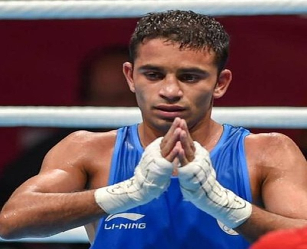 23-year-old boxer, a Naib Subedar in the Indian Army, dedicates gold to Pulwama martyrs