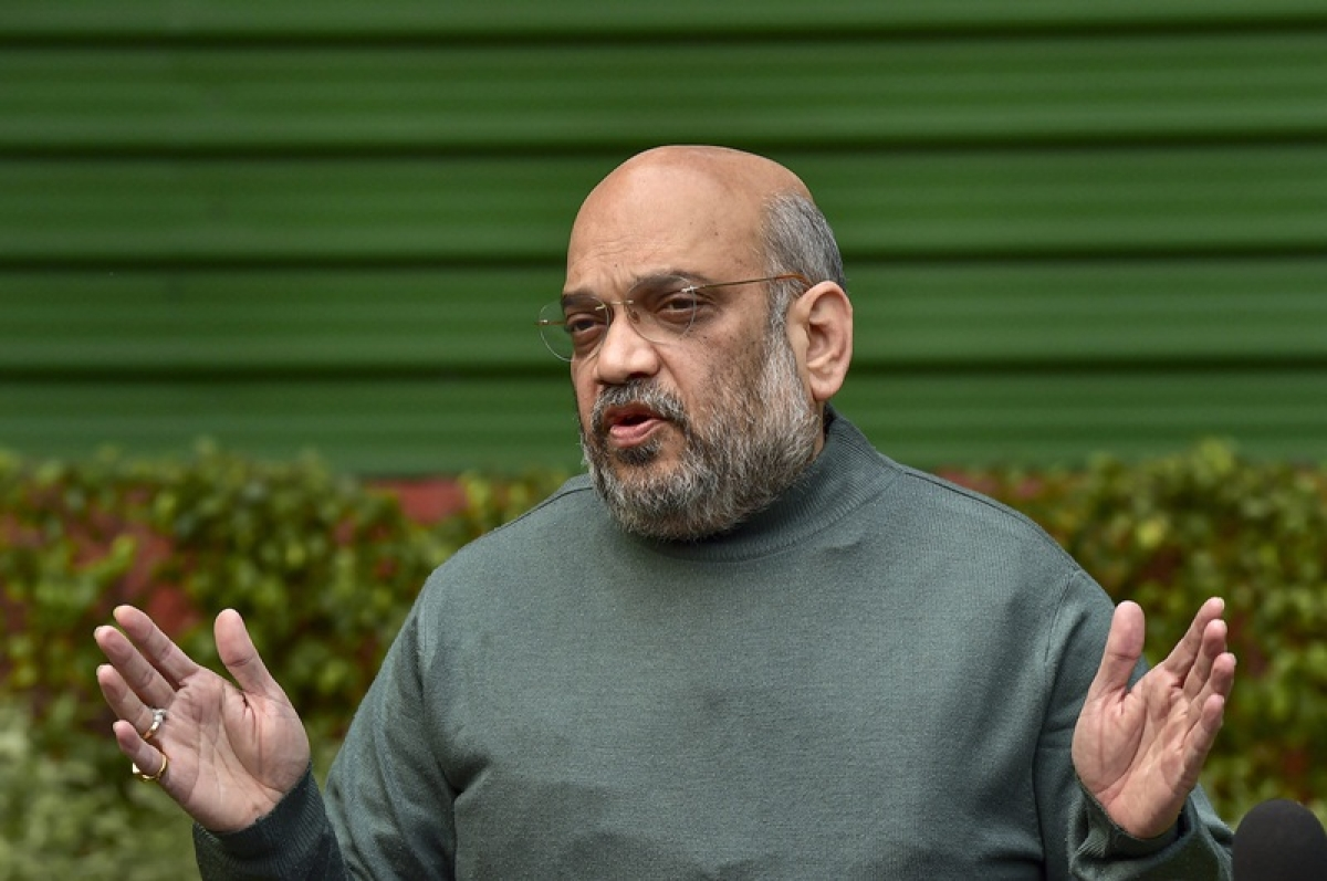 Sacrifice of CRPF men won't go in vain, as BJP is at Centre: Amit Shah