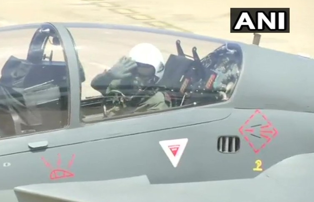 Watch: Army Chief General Bipin Rawat takes to skies in home-grown Tejas, calls it 'wonderful' aircraft