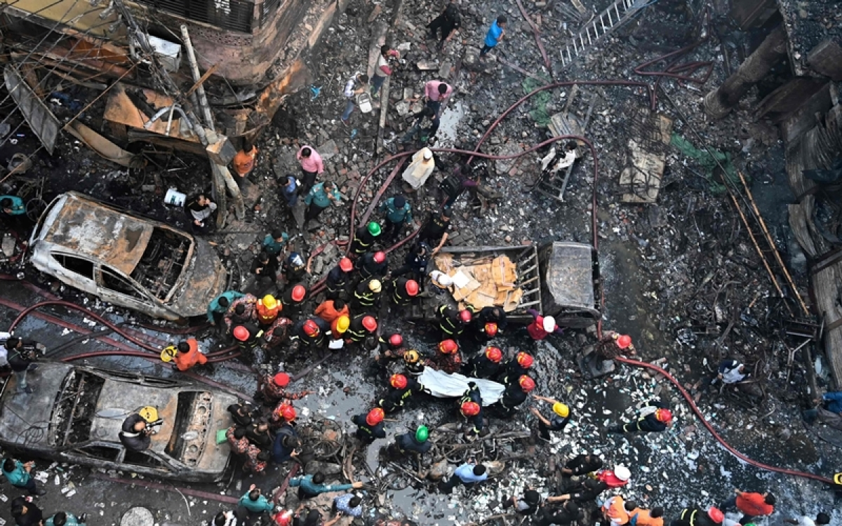 Bangladesh fire: Four children among 70 dead, death toll may rise further
