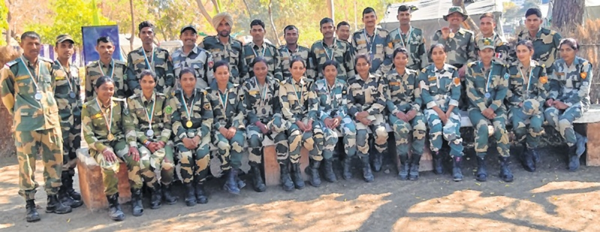 Indore: History made, BSF women constables win gold while competing with men