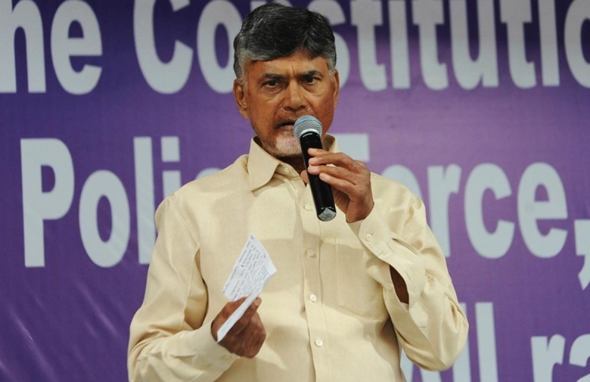 PM Narendra Modi, KCR conspiring against TDP, claims Chandrababu Naidu