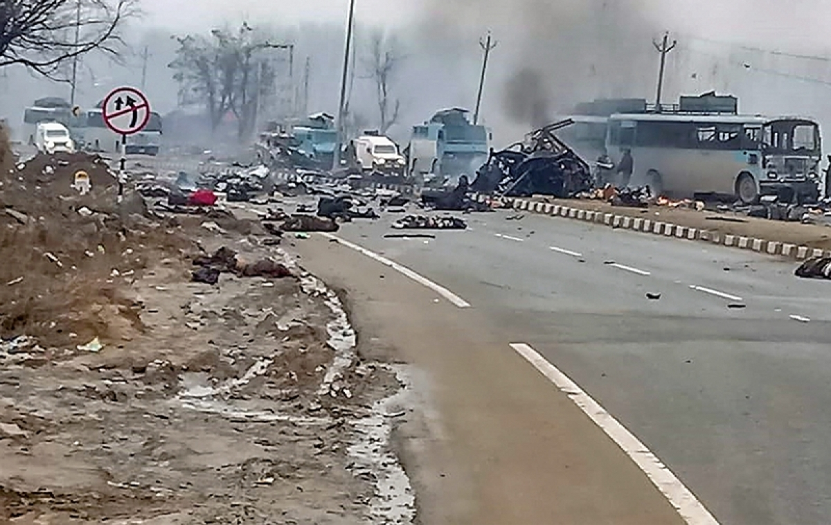 Pulwama attack (February 14, 2019): One of the deadliest terror attacks in which 40 Central Reserve Police Force (CRPF) personnel were martyred. A suicide bomber rammed a vehicle carrying over 100 kg of explosives into their bus in Pulwama district.