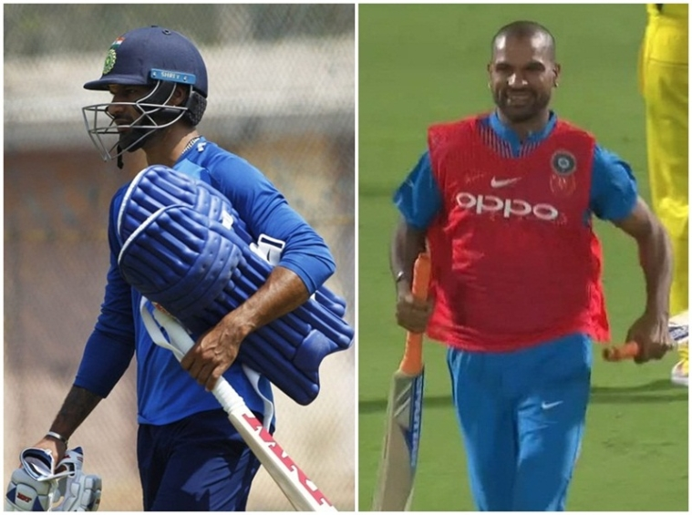 India vs Australia: Twitterati trolls Shikhar Dhawan for his 'special appearance' during first T20 match