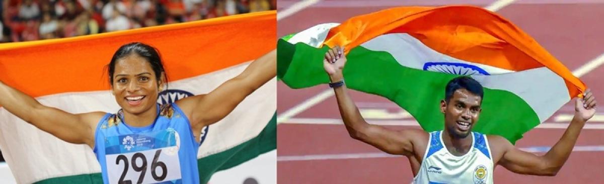Dharun, Dutee Chand shine at Indian Grand Prix-2
