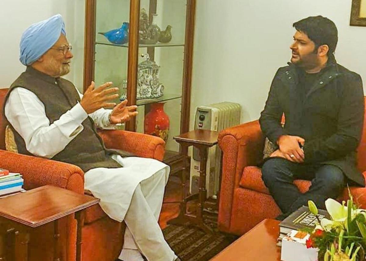 Kapil Sharma and former PM Manmohan Singh bond over Amritsari roots