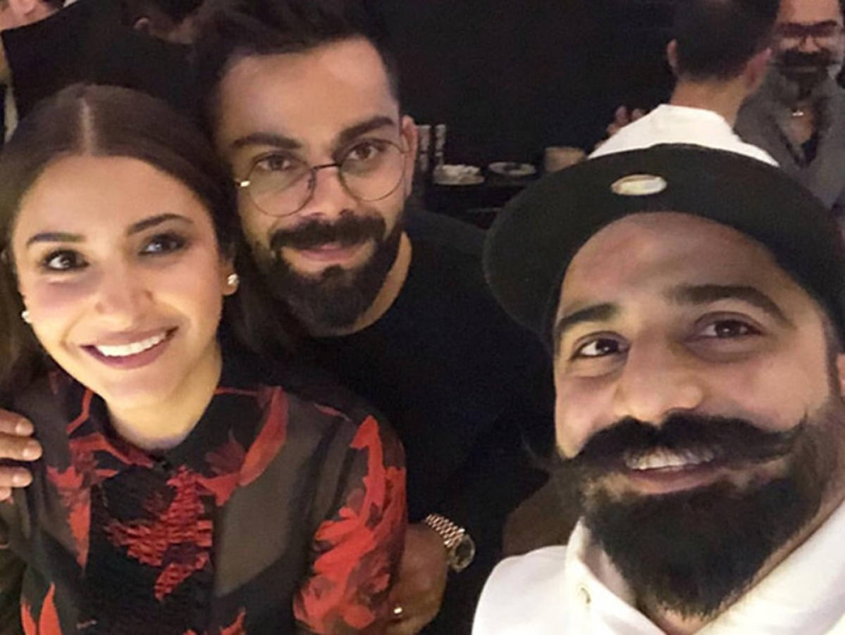 Valentine's Day Special: Anushka Sharma, Virat Kohli spend time over dinner