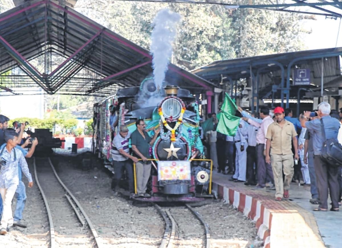 Heritage Gully Phase-2 opened at Chhatrapati Shivaji Maharaj Terminus