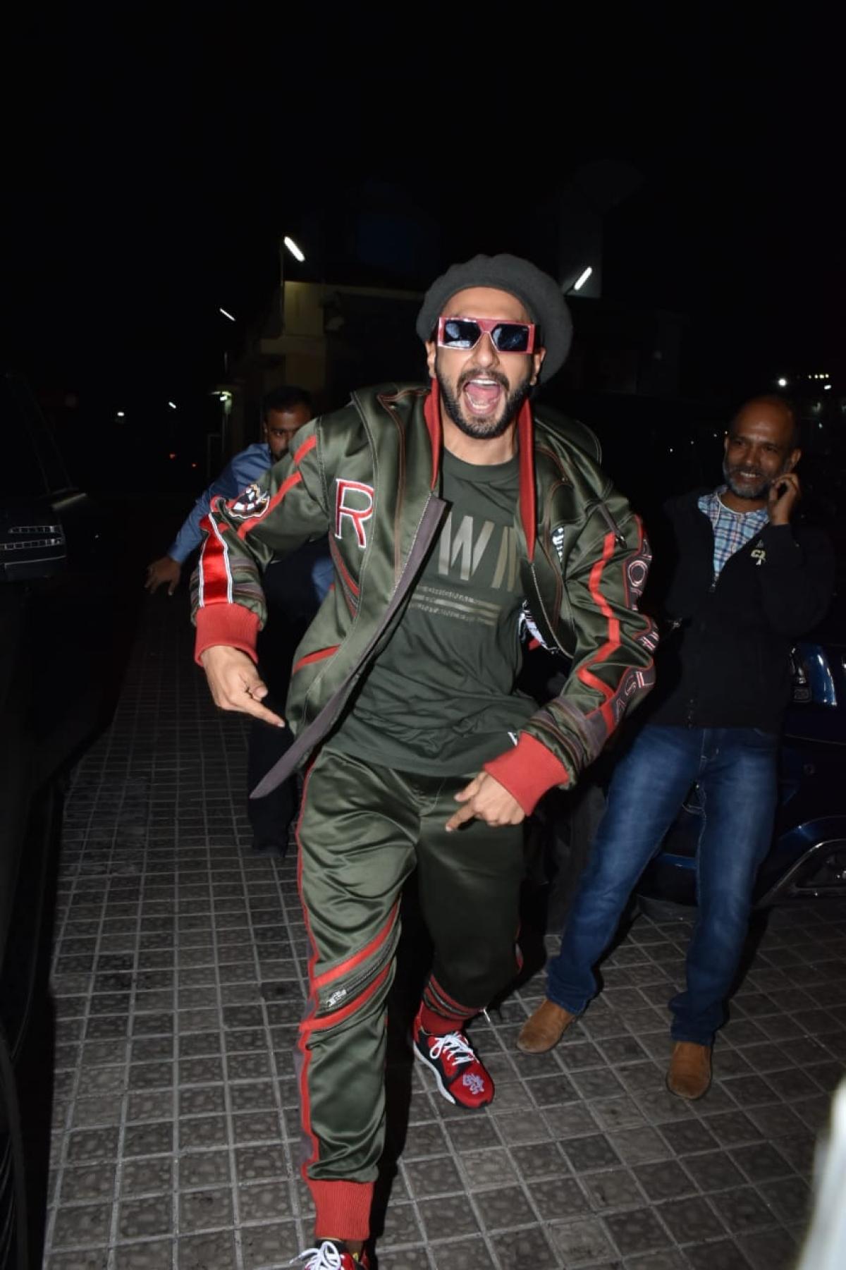 Ranveer Singh, Pic courtesy: Viral Bhayani