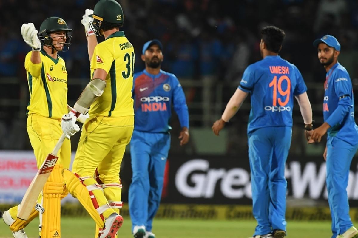 India vs Australia 1st ODI: Indian bowlers restrict Australia to modest total