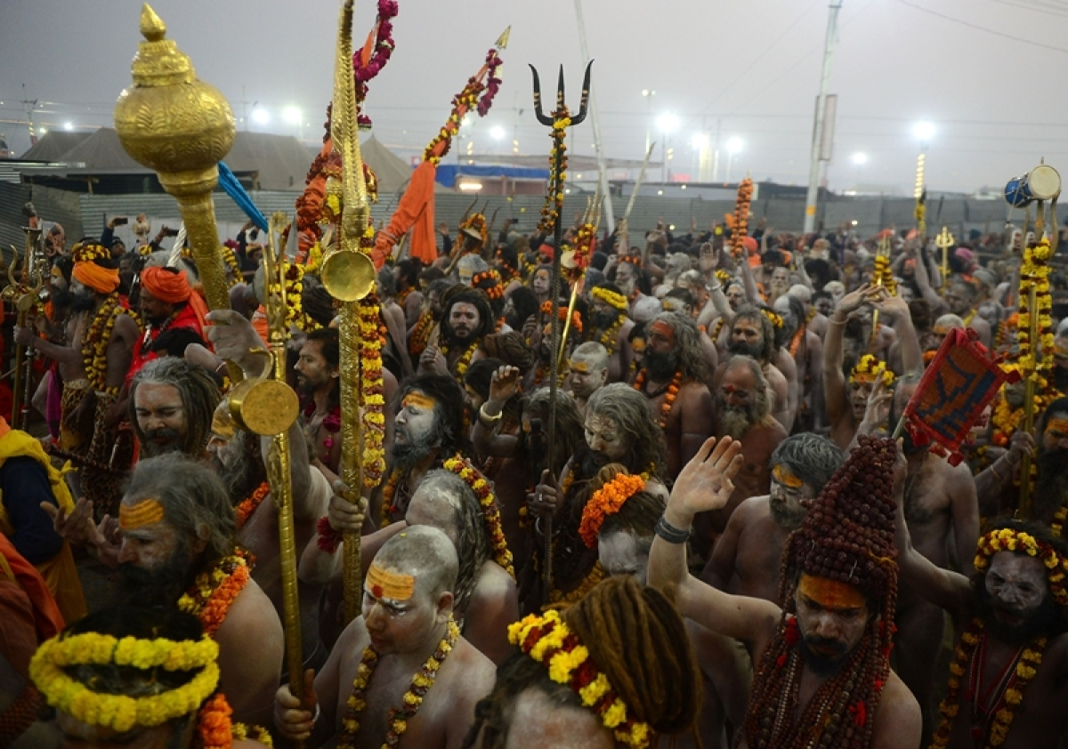In pics: 1.81 crore take holy dip at Kumbh on 'Mauni Amavasya'